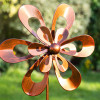 SMALL FLOWER WINDSPINNER SET OF 4