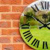 MIRROR CLOCK piece