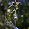 STAINLESS STEEL DOUBLE EYE ORNAMENT x 6 Pieces
