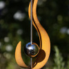STAINLESS STEEL RUST FLAME ORNAMENT x 6 Pieces