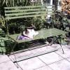 Wimbledon Two Seater Folding Bench