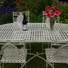 Cream Cafe Oval Dining Table