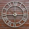 Rustic Large 76cm Outdoor Clock