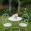 Ladies At Tea - Cream Table With Two Chairs - OUT OF STOCK