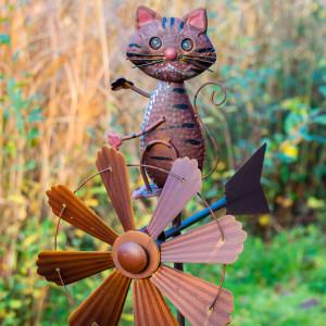 CAT WIND SCULPTURE