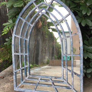 Antique Blue Church Mirror per box 2 pieces
