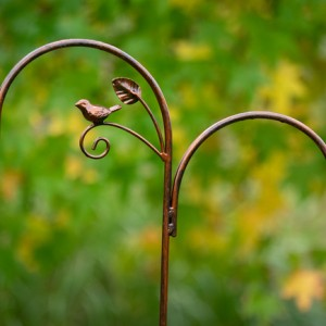 Double Shepherds Crook (Bird & Leaf)