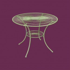 Antibe Pale Green 1m Round Table