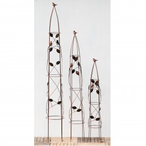 Bird 3 piece Obelisk Set