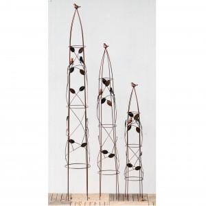 Bird 3 piece Obelisk Set