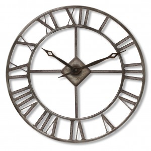 Rustic Large Garden Clock
