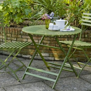 Wimbledon 70cm Round Folding Table