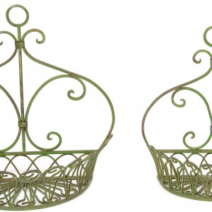 Wimbledon set of 2 Wall Baskets