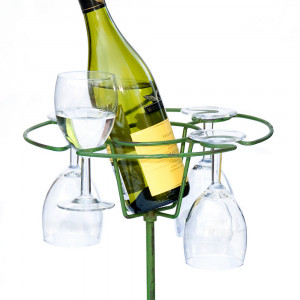 Wimbledon Wine & Glass Holder Box of 12