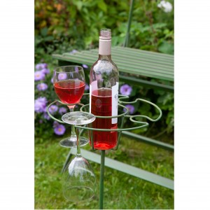 Wimbledon Wine & Glass Holder