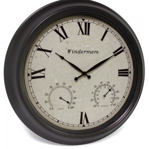 Windermere outdoor clock