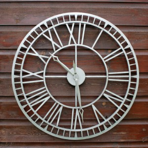 Metalworks 61cm Outdoor Clock - OUT OF STOCK