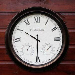 Windermere outdoor clock