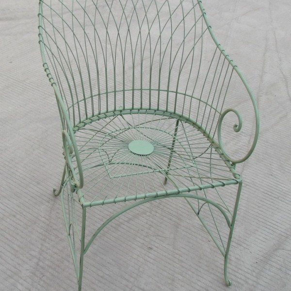 Antibe Pale Green Carver Chair