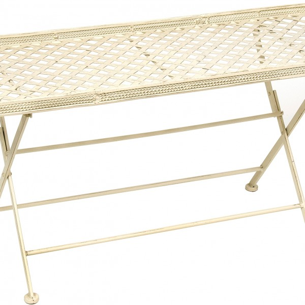 Cream Cafe Folding Coffee Table