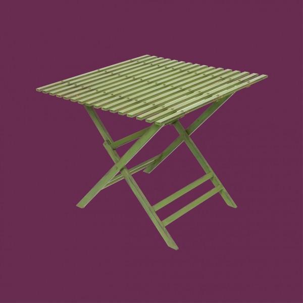 Wimbledon 86cm Square Folding Table