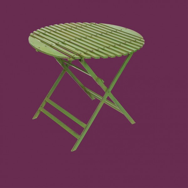 Wimbledon 90cm Folding Round Table