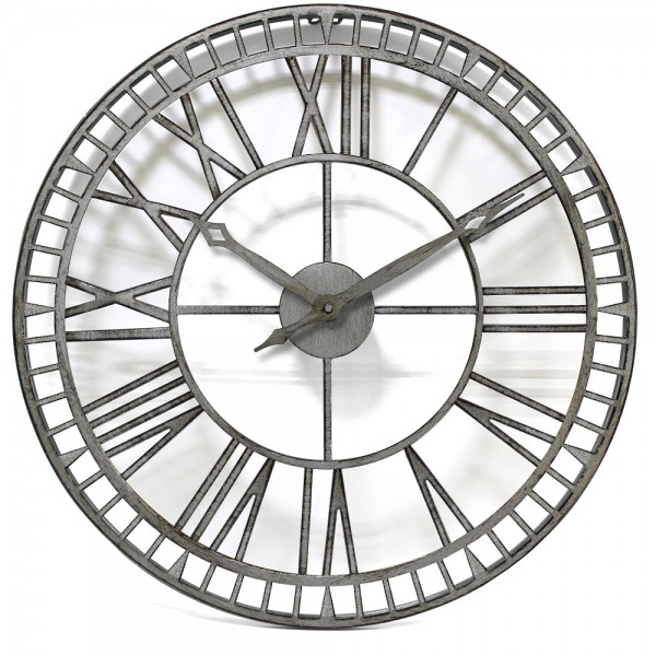 Metalworks Outdoor Clock