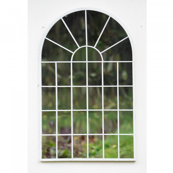 Cream Garden Archway Mirror - OUT OF STOCK