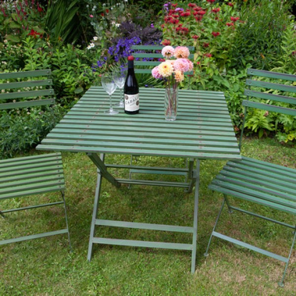 Wimbledon 86cm Square Folding Table